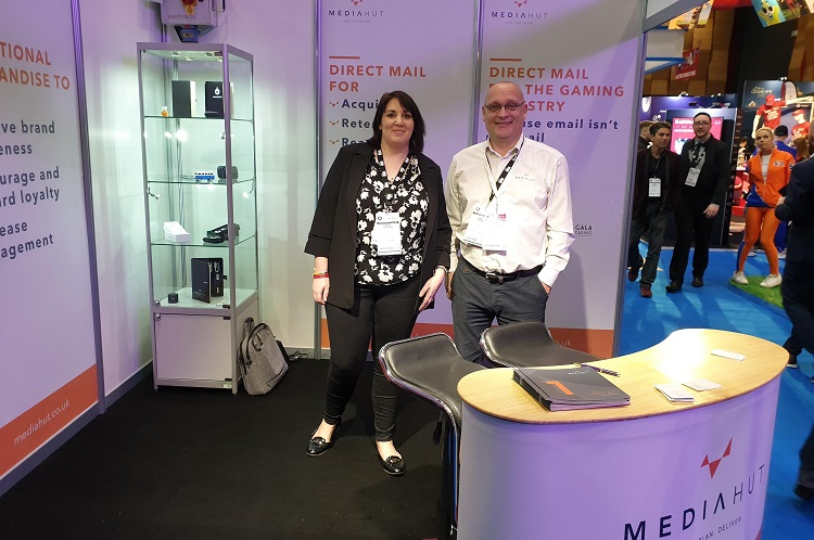 Media Huts stand at the iGB Affiliate Conference